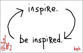 Inspire. Be inspired.
